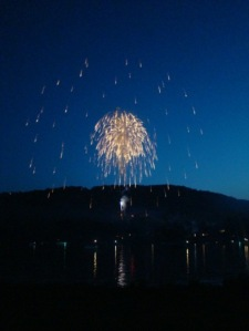 Deep Creek Lake Fireworks 2010